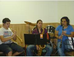 Formació amb Tarota, Saxo tenor i clarinet